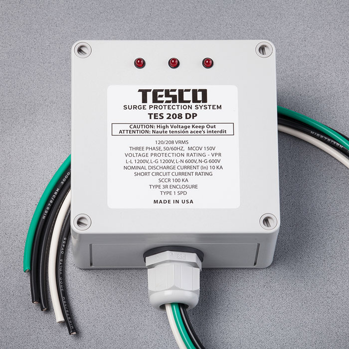 Commercial Lightning Protection: TES 208DP
